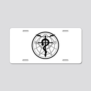 Transmutation Circle Aluminum License Plate