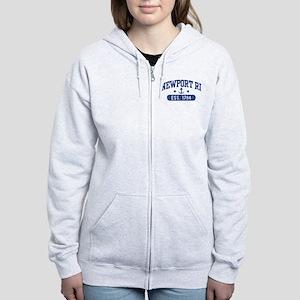 Newport Rhode Island Women's Zip Hoodie