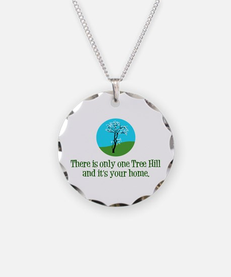 OTH Home Necklace Circle Charm