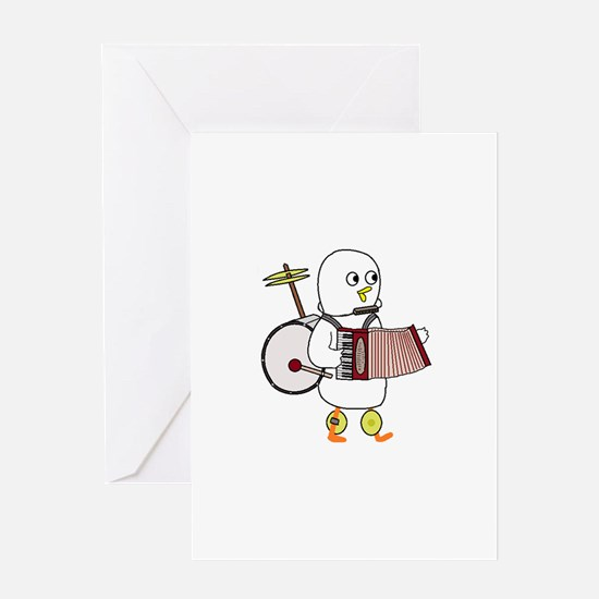 Super Band Greeting Cards