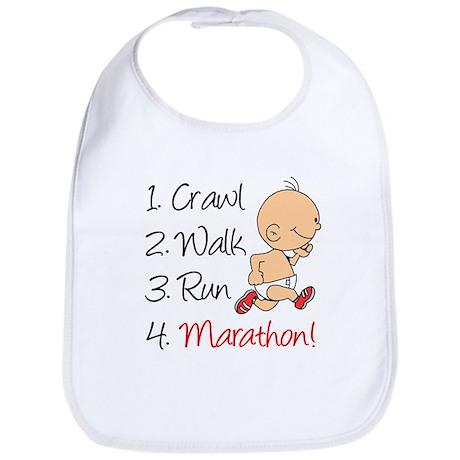 Crawl, Walk, Run Marathon Bib