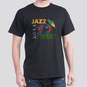 2011 Jazz Fest gear Dark T-Shirt