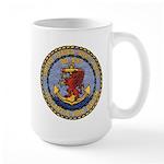 USS DAVIS Large Mug