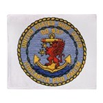 USS DAVIS Throw Blanket