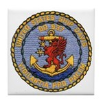 USS DAVIS Tile Coaster