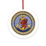 USS DAVIS Ornament (Round)
