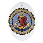 USS DAVIS Ornament (Oval)