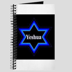 Yeshua Star of David (Blk) Journal