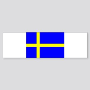 SWEDEN FLAG Sticker (Bumper)