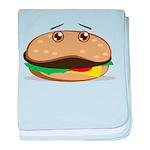 Hamburger baby blanket