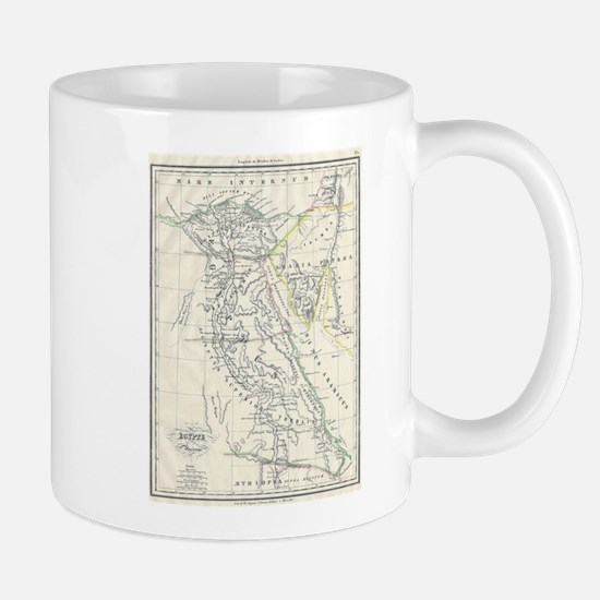 Vintage Map of Egypt (1837) Mugs