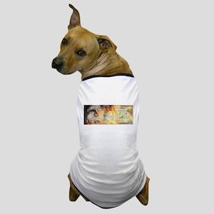 Burning Dollar Dog T-Shirt