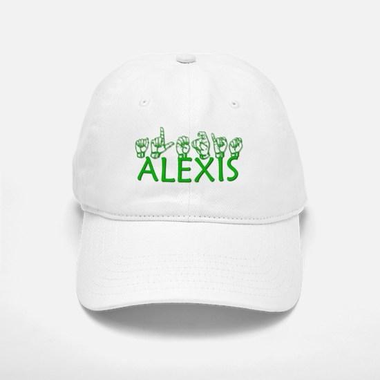 ALEXIS-green Baseball Baseball Cap