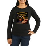 Judge'em Women's Long Sleeve Dark T-Shirt