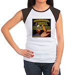 Judge'em Women's Cap Sleeve T-Shirt