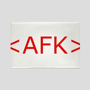 AFK Rectangle Magnet