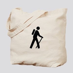 Hiking Trail Image Tote Bag