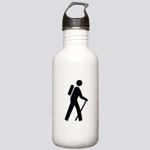 Hiking Trail Image Stainless Water Bottle 1.0L
