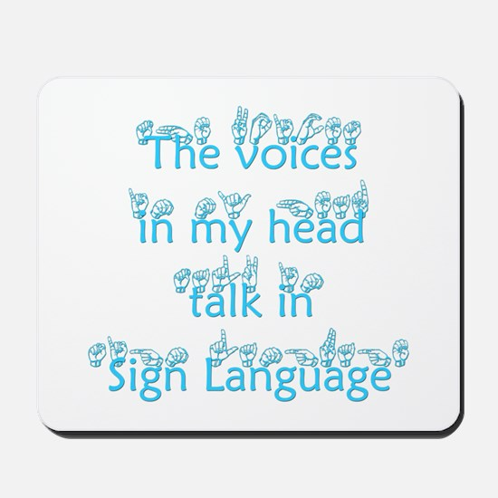 The voices in my head talk in Mousepad
