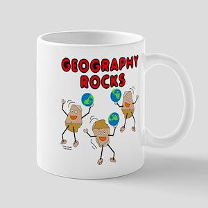 Three Geography Rocks Mug