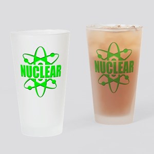 funny nuclear Pint Glass