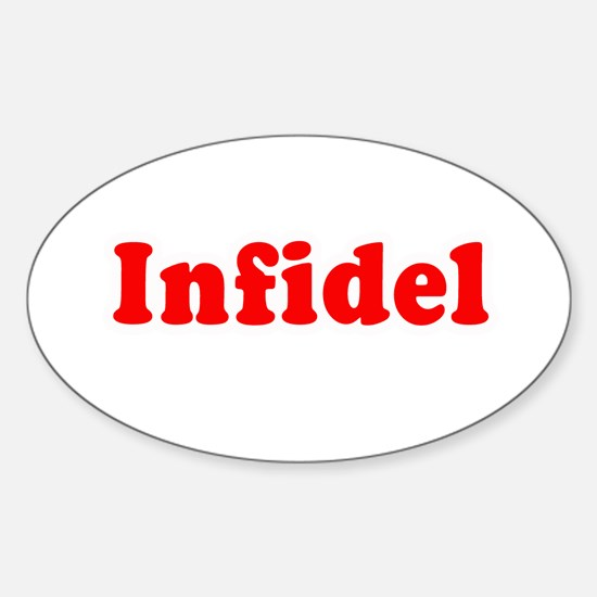 Infidel - Oval Decal