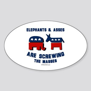 Elephants & Asses are screwing the masses - Stick