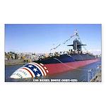 USS DANIEL BOONE Sticker (Rectangle)