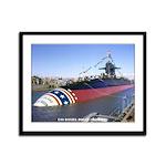 USS DANIEL BOONE Framed Panel Print