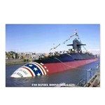 USS DANIEL BOONE Postcards (Package of 8)