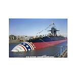 USS DANIEL BOONE Rectangle Magnet