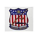 USS DANIEL BOONE Throw Blanket