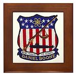 USS DANIEL BOONE Framed Tile