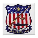 USS DANIEL BOONE Tile Coaster
