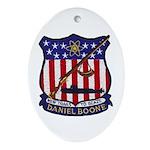 USS DANIEL BOONE Ornament (Oval)