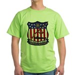 USS DANIEL BOONE Green T-Shirt