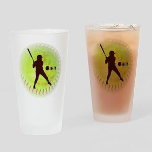 iHit Fastpitch Softball Pint Glass