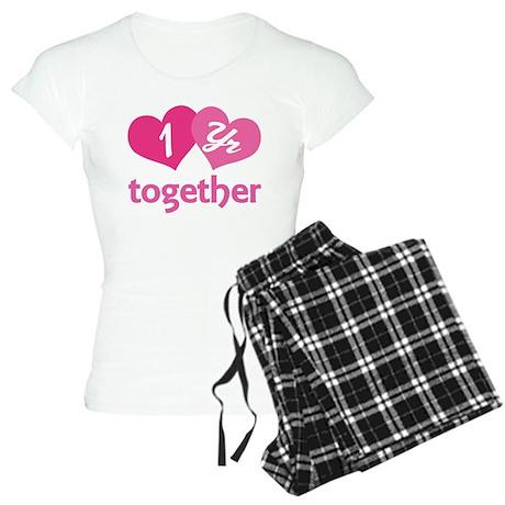1st Anniversary Hearts Women's Light Pajamas