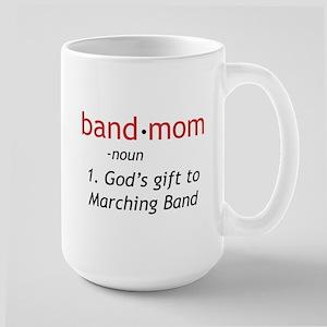 Definition of a Band Mom Large Mug