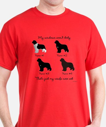 4 Newfoundlands T-Shirt