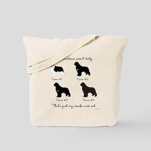 4 Newfoundlands Tote Bag