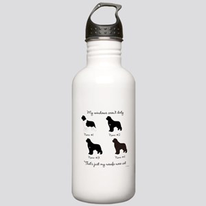 4 Newfoundlands Stainless Water Bottle 1.0L