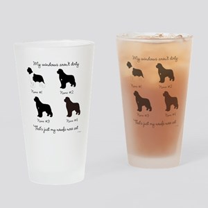 4 Newfoundlands Pint Glass
