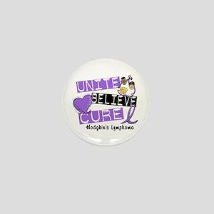 Unite Believe Cure Hodgkin's Lymphoma Mini Button