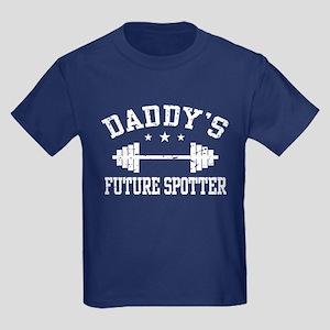 Daddy's Future Spotter Kids Dark T-Shirt