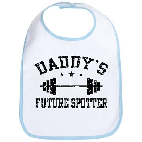 Daddy's Future Spotter Bib