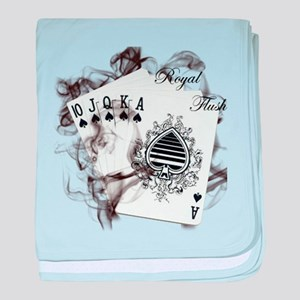 Smokin' Royal Flush baby blanket