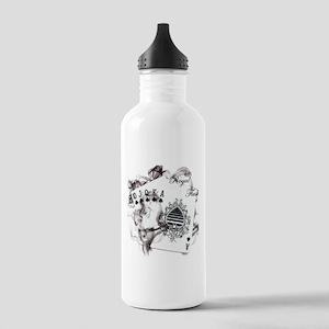 Smokin' Royal Flush Stainless Water Bottle 1.0L