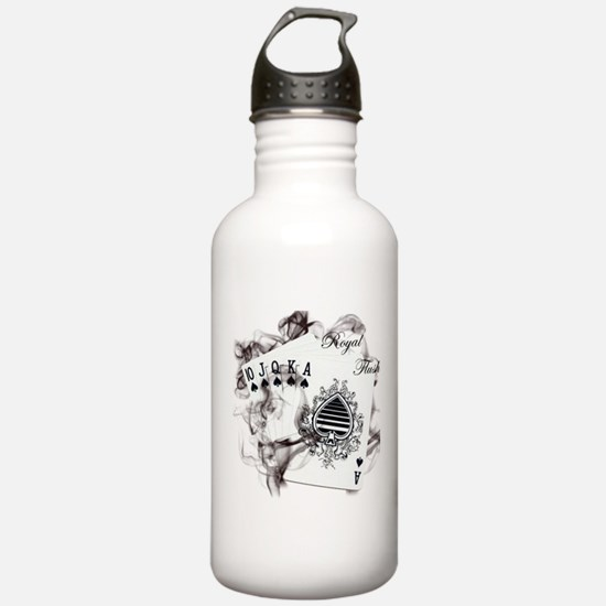 Smokin' Royal Flush Water Bottle