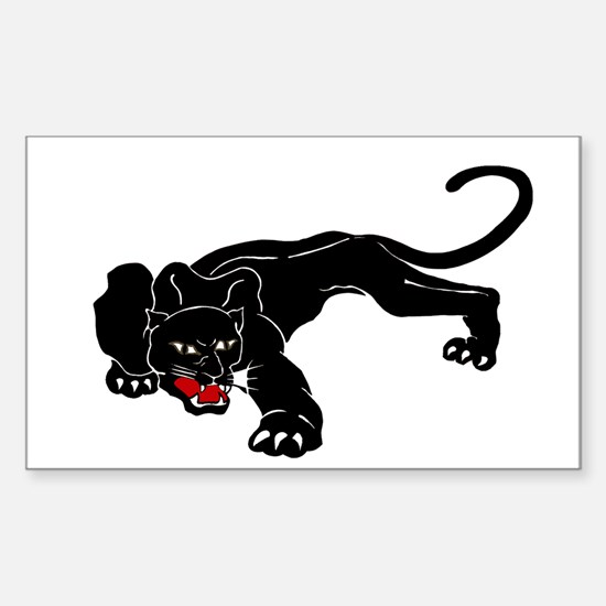 Panther Sticker (Rectangle)